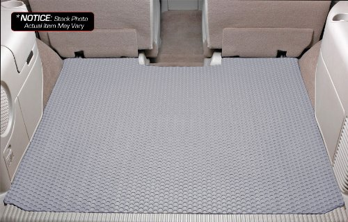 Lloyd Rubbertite Cargo Liners - Lloyd Mats Rubbertite Custom-Fit All-Weather Rubber Floor Mats Cargo Area Compatiable for Toyota 4Runner- No 3rd Seat - With Rear Double Deck Cargo - LIGHT GREY (2003 03 2004 04 2005 05 2006 06 2007 07 2008 08 2009 09 )
