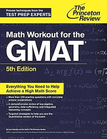 gmat preparation books princeton review