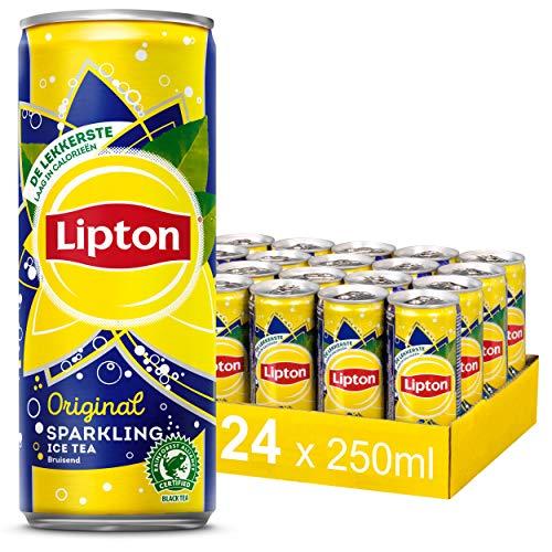 Lipton Ice Tea Sparkling Orginal – 24 blikjes – 250ML