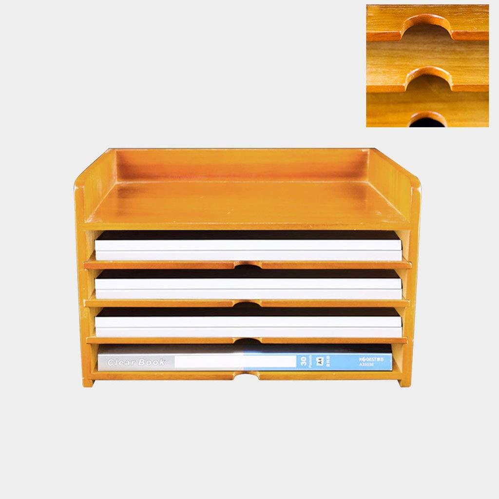 Cassetta portaoggetti Cassetta portaoggetti Cassetto portaoggetti Scrivania Cassetta portaoggetti desktop Cassetta ufficio Finitura in legno massello A4