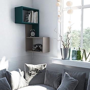 Ada Home D/écor DCRW2171 Wingate Wall Shelf 19 x 34 x 8 White Ada Home Decor