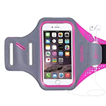 Triomph Armband for iPhone 7 iPhone 6s/6,iPods Samsung Galaxy S6/S6 Edge S5 with Screen Protector and Key Cards Money Holder,for Running,Workouts, Jogging,Hiking,Biking,Walking 5""