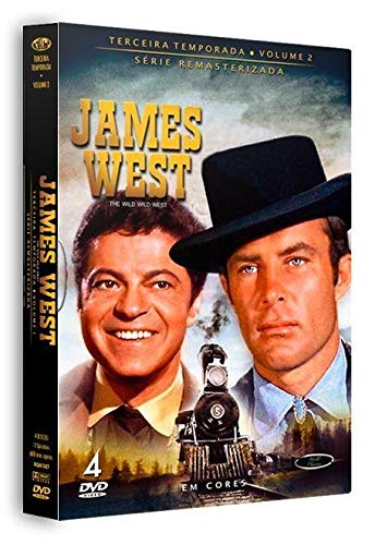 Dvd James West - 3 Temporada Vol.2