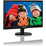 "Monitor LED 18,5"" Widescreen Philips 193V5LSB2 HD"