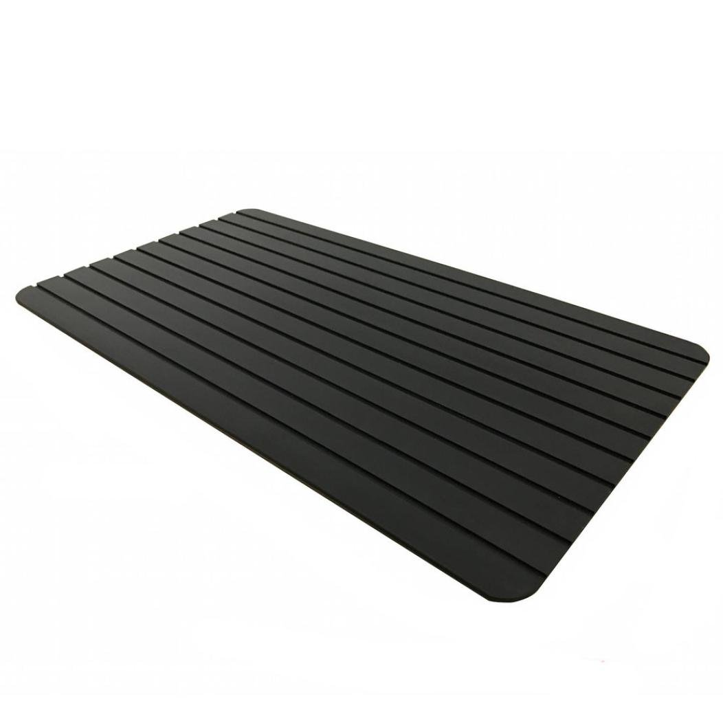 HUHU833 Hot Kitchen Fast Defrosting Tray - The Safest Way to Defrost Meat Or Frozen Food