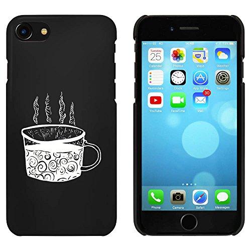 Noir 'Tasse de café' étui / housse pour iPhone 7 (MC00066211)