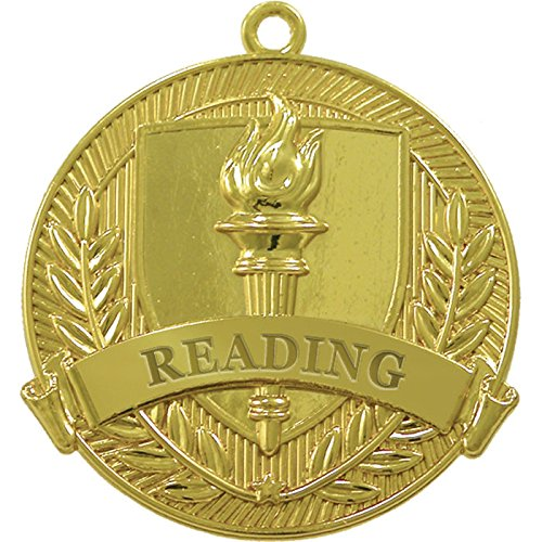 Reading Gold Medal (Set of 25) by Jones School Supply Co., Inc.