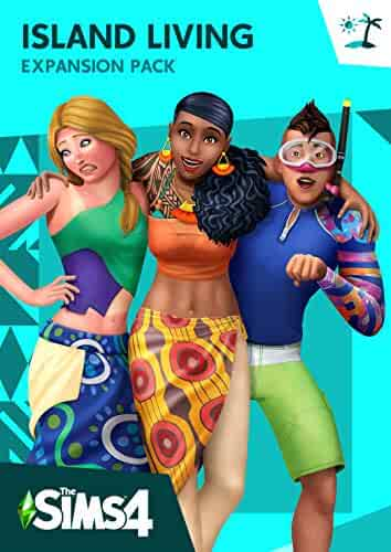 The Sims 4 Island Living [Online Game Code]