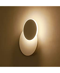 HOUDES Modern LED Wall Sconce Lighting Fixture Decorate Wall Light for Living Room,Hallway, Bedroom Warm White 3000K