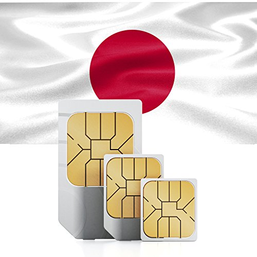 Japanese Prepaid 1GB DATA sim card Standard Micro Nano 30 days 3G LTE Japan by travsim
