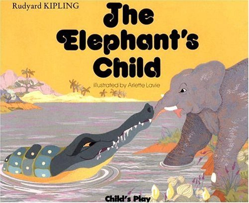 Book cover for The Elephant's Child
