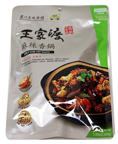 (Wangjiadu Spicy Stir Fry Sauce 7.05 oz x 3pk )