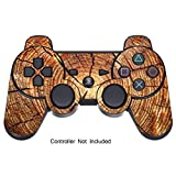 Cheap Skin Stickers for Playstation 3 Controller – Vinyl Leather Texture Sticker for DualShock 3 Wireless Game Controllers – Protectors Controller Decal – Wood Grain [ Controller Not Included ]