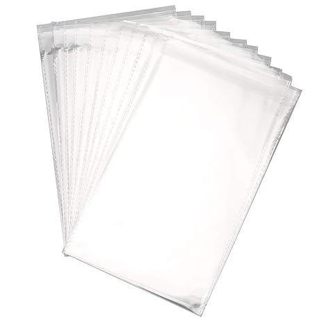 Foraineam 400 bolsas de celofán transparentes resellables de ...