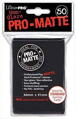 3 opinioni per Deck Protector Sleeves: PRO-Matte 50 Black [importato dalla Germania]