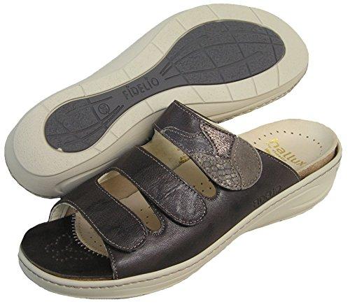 Fidelio Donna Hallux Fabia Borsite Sandalo Con Slittino 434131 (marrone / Marrone)
