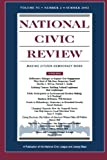 img - for National Civic Review, No. 2, Summer 2002: Issues in Democratic Politics: Public Deliberation, Electoral Reform, and Civic Participation (J-B NCR Single Issue National Civic Review) (Volume 91) book / textbook / text book