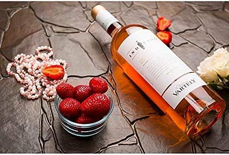 Vino rosado INDIVIDO Cabernet Sauvignon Merlot por Chateau Vartely 0.75l 13% alcohol vintage 2018 de Moldavia