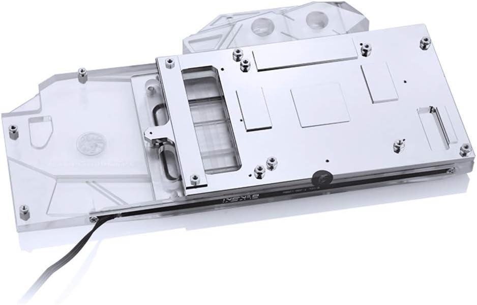 Bykski GPU Copper RBW LED Graphics Card GPU VGA Water Cooling Block for Zotac RTX 2080Ti 2080 2070 2060