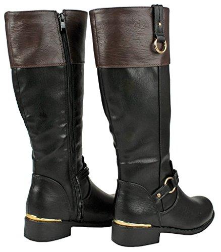 Mango Jjf blk Forever Lady Boot 21 Shoes Link Brown fk vwgatw