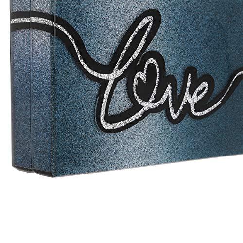 Blue Metal Lagerfeld Bag Body Karl Womens Cross Size One p6qxP