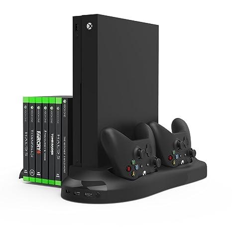 InnoGear Soporte Vertical para Xbox One X Cargador con ...