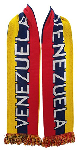 RUFFNECK National Soccer Team Venezuela Scarf, Yellow, One Size