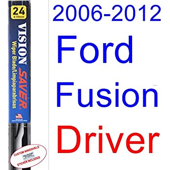 2006-2012 Ford Fusion Wiper Blade (Driver) (Saver Automotive Products-Vision Saver) (2007,2008,2009,2010,2011)