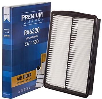 Premium Guard PA6320 Air Filter | Fits 2012-16 Hyundai Santa Fe, 2013-16 Hyundai Santa Fe XL, 2014-15 Kia Sorento