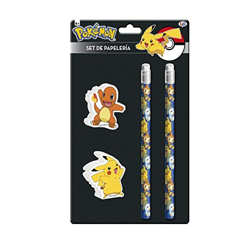 Pokemon gs-411-pk Pikachu und Glumanda Stationery Set