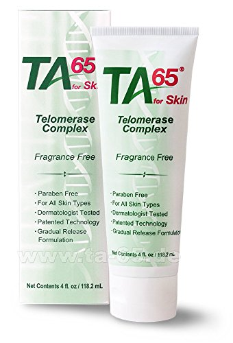 T.A. Sciences | TA -65 Telomerase Complex for Skin | 4floz Bottle