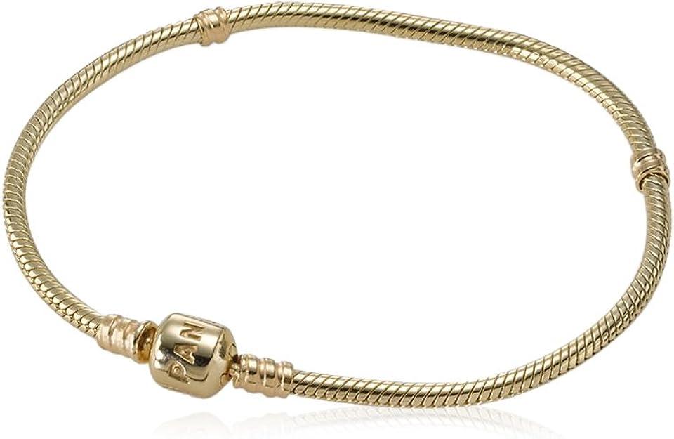 bracelet pandora femme dore