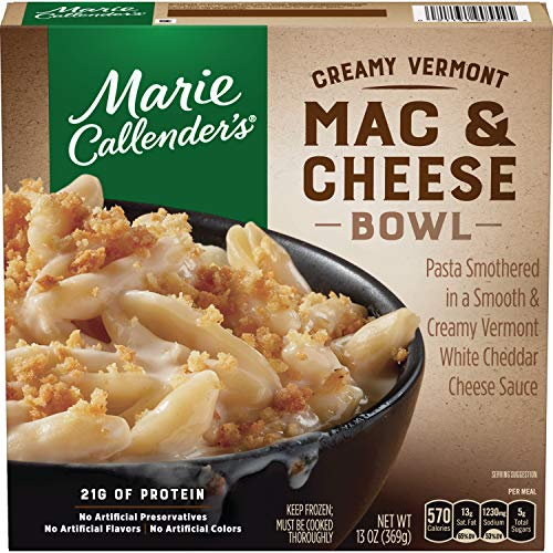 Coconut Custard Pie - Marie Callender's Creamy Vermont Mac & Cheese Bowl, 13 Ounce