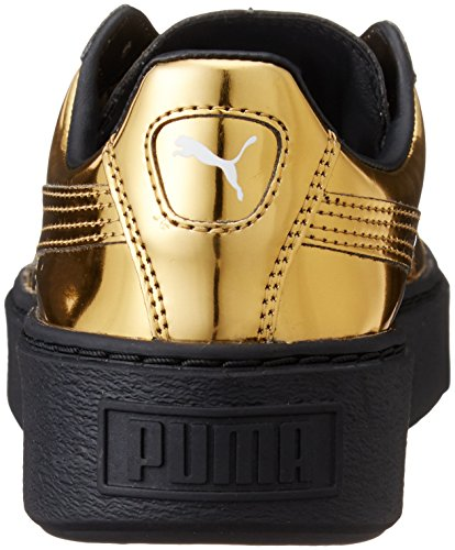 Puma Basket Creepers Metallic W Calzado gold