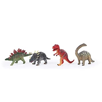 Ideal Kids Dino Figure Party Favors Bulk Supplies Liberty Imports 3D Dinosaur Puzzle in Jurassic Egg Educational Assembly Kit Set of 12