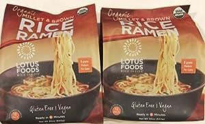 Amazon.com : Lotus Foods Organic Millet & Brown Rice Ramen