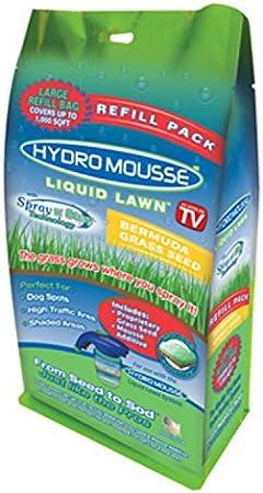 Amazon Com Hydro Mousse 17500 6 Liquid Lawn Bermuda Grass Seed