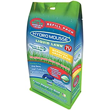Amazon com : Hydro Mousse Liquid Lawn System - Grow Grass