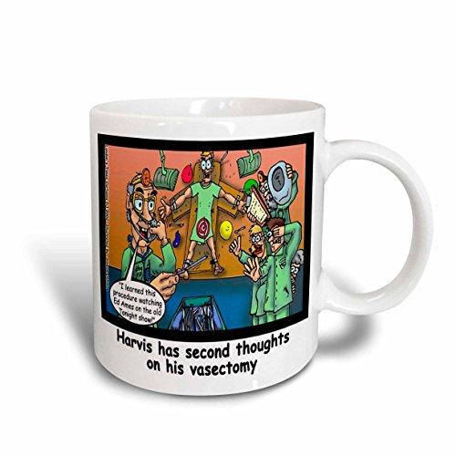 - 3dRose Londons Times Funny Medicine Cartoons - Ed Ames Vasectomy - 11oz Mug (mug_2260_1)