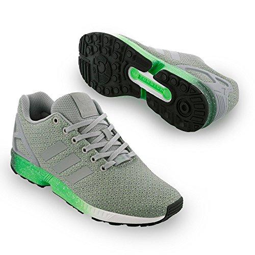 Adidas Zx Flusso - Af6328 Nero-grigio-verde