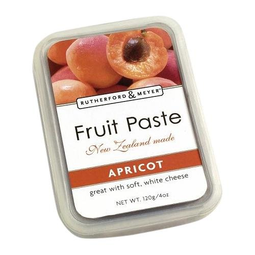 Rutherford and Meyer Fruit Paste, Apricot, 4.2-Ounce Containers (Pack of 4) by Rutherford & Meyer
