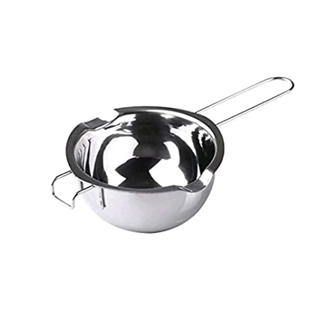 Chytaii - Cuenco, cazo para baño María de acero inoxidable, bol para fundir chocolate o mantequilla, con asa, utensilio de cocina de horno, repostería