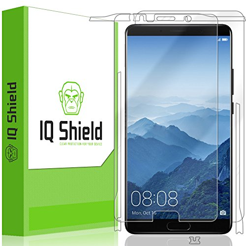 IQ Shield Full Body Skin Compatible with Huawei Mate 10 + LiQuidSkin Clear (Full Coverage) Screen Protector HD and Anti-Bubble Film