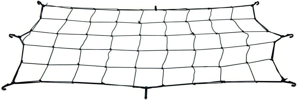 Lucky Bums Utility Sled Cargo Net, Black