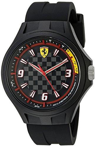 Ferrari-830278-Pit-Crew-Analog-Display-Quartz-Black-Watch