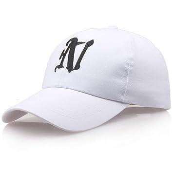 MAOXZI Gorras de béisbol Ocasionales Gorras de Letras, 002: Amazon ...