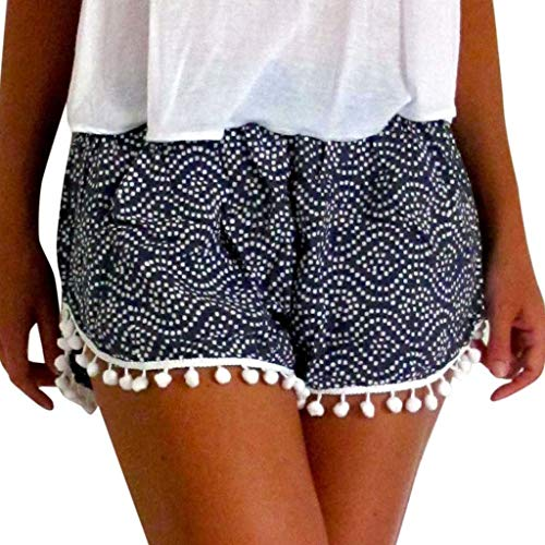 WOCACHI Womens Lace Plus Size Shorts Rope Bowknot Tie Shorts Yoga Sport Pants Short Leggings Trousers Pajama Casual Fashion Elastic Oversized 2019 Summer Deals Under 5 Dollars