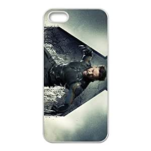 Comics Hugh Jackman as Wolverine in X Men Days Of Future Past iPhone 4 4s Cell Phone Case White 91INA91113016