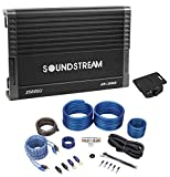 SOUNDSTREAM AR1.2500D Arachnid 2500w Peak/1250w RMS Mono Amplifier+Amp Kit