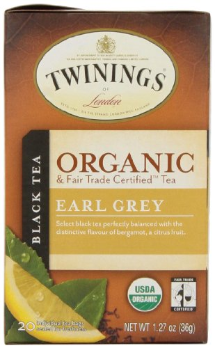 Twining's North America Inc. Tea, Og, Earl Grey, 20-Count (Pack of 6)